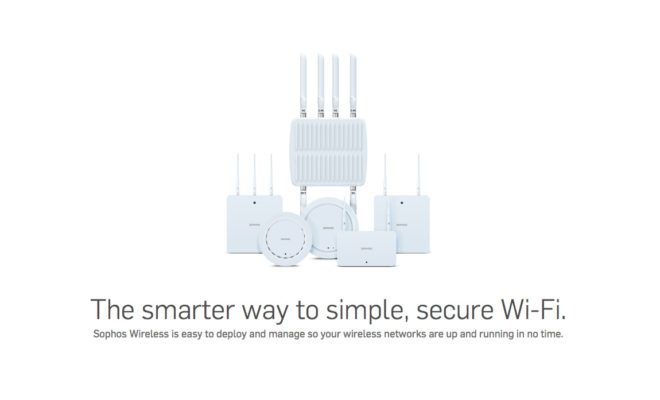 Sophos Launches Cloud Managed Wireless