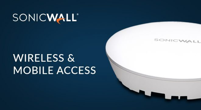 SonicWall Wireless & Mobile access
