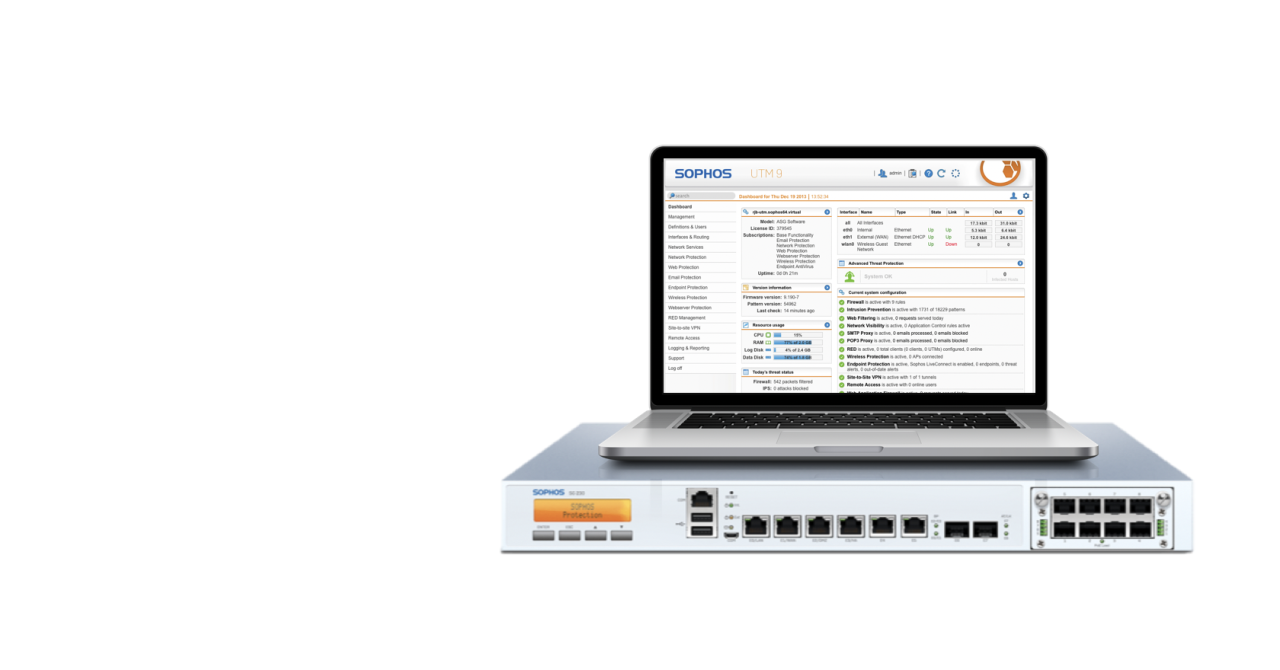 Sophos UTM 9 6 is now available - Firewall News